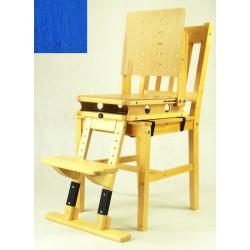 Sedák a opora nohou - modrá
