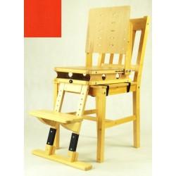 Sedák a opora nohou - červená