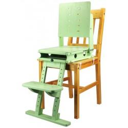 Sedák a opora nohou - zelená