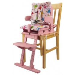 Sedák a opora nohou - růžová
